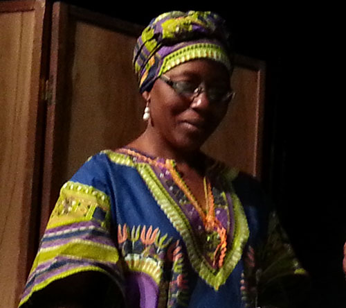 Anna Ngemba works to change perceptions of women and women's issues in DRC. (credit: Internews)