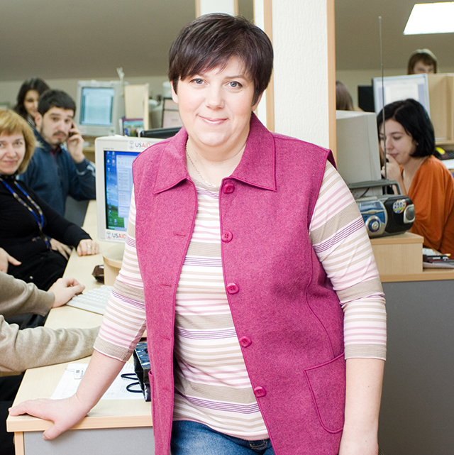Natalia Ligacheva is founder and editor-in-chief of Telekritika.