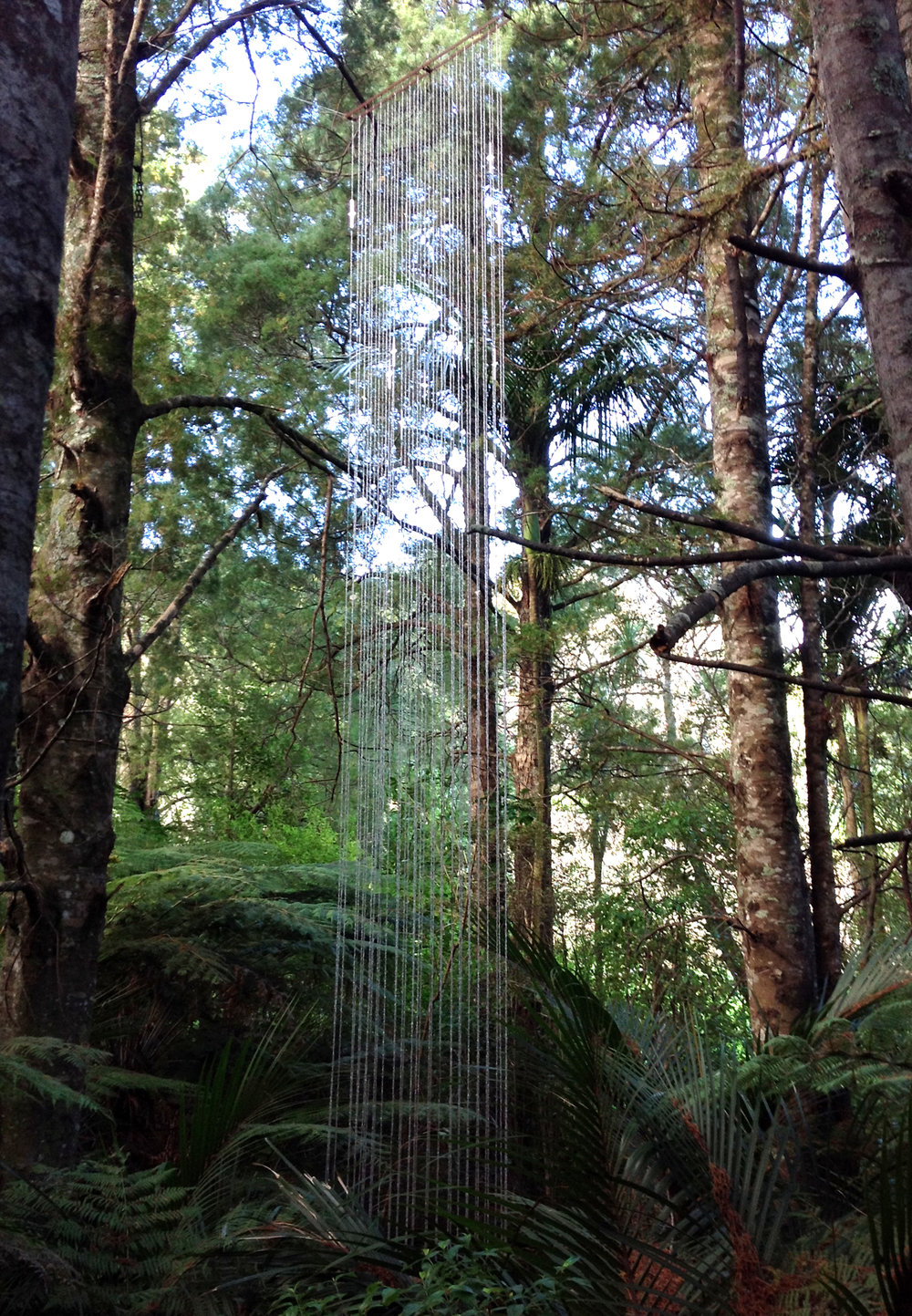 Songs From The Sky , Brick Bay Sculpture Park, New Zealand