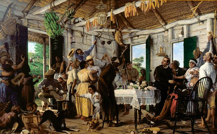 El Velorio de Francisco Oller y Cestero (1893) (Photo credit: www.mundodelmuseo.com)