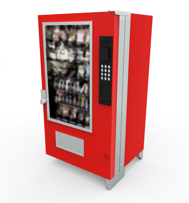 high security vending machine