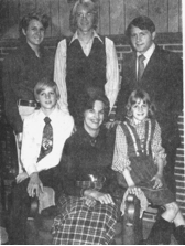 Mark, Paul, Jack, Jimmy, Norma, Joy
