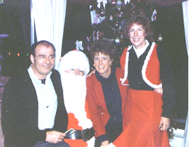 Norm & Marsha Covey join Santa and Mrs. Claus