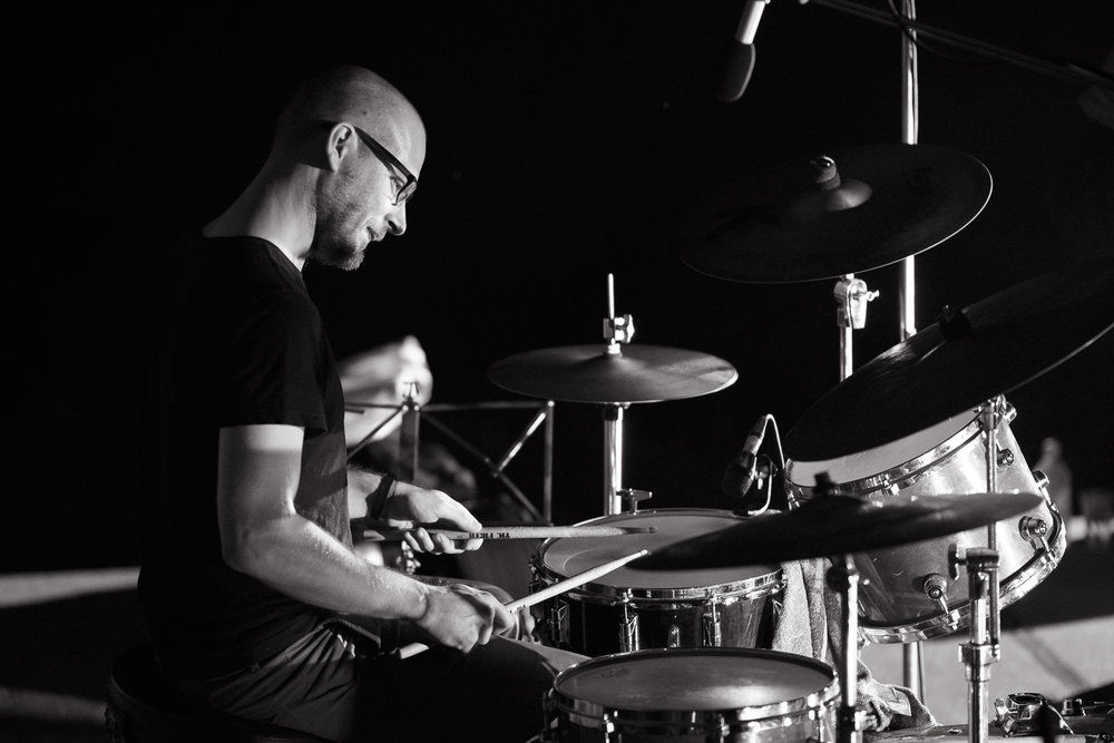 Bojan Krhlanko - independent drummer & composer, combining wide range of music expression