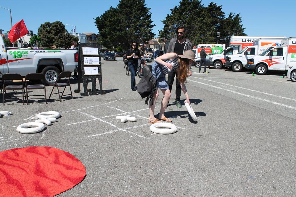 XO (Parking Lot Art Fair 2016 Interaction)