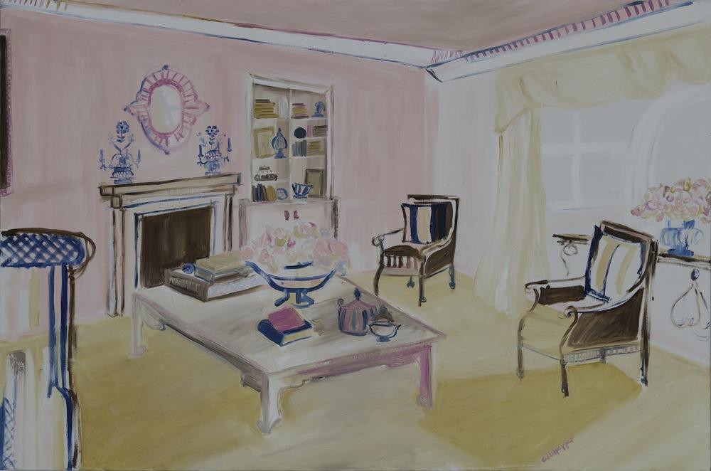 scarlett's dream    oil on canvas  |  24 x 36