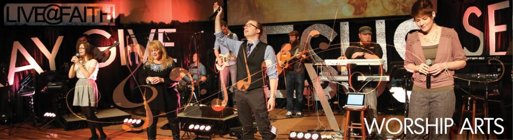 Mark Edington and the LIVE@FAITH Worship Team