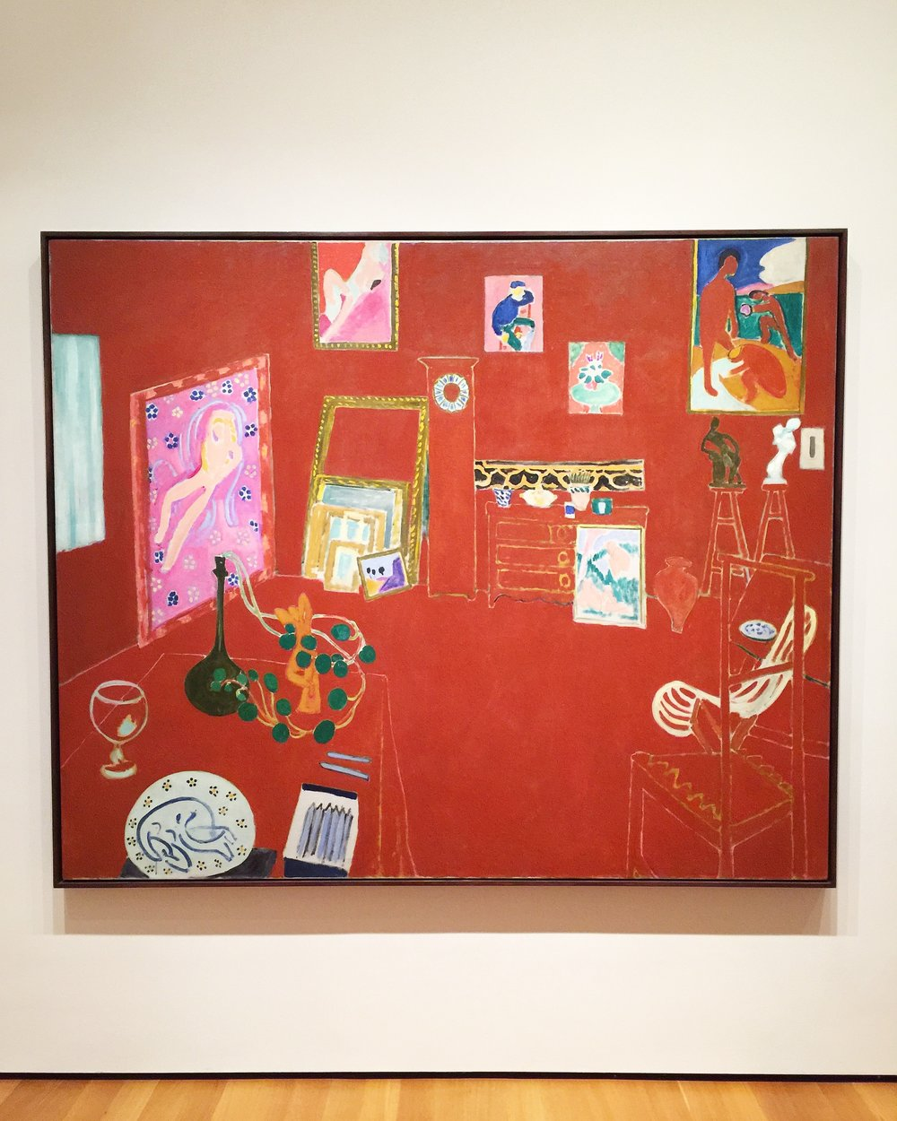 The Red Studio, Matisse, MOMA