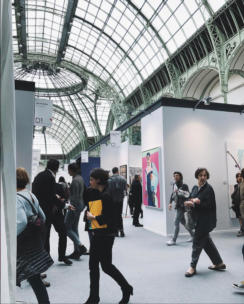 John at Art Paris 2017