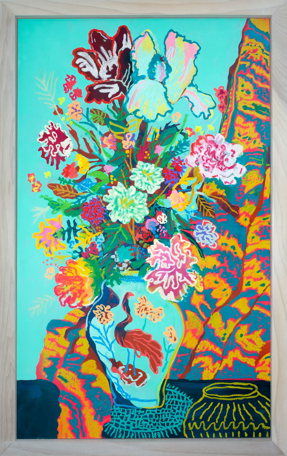 Floral with Drapery, 2018