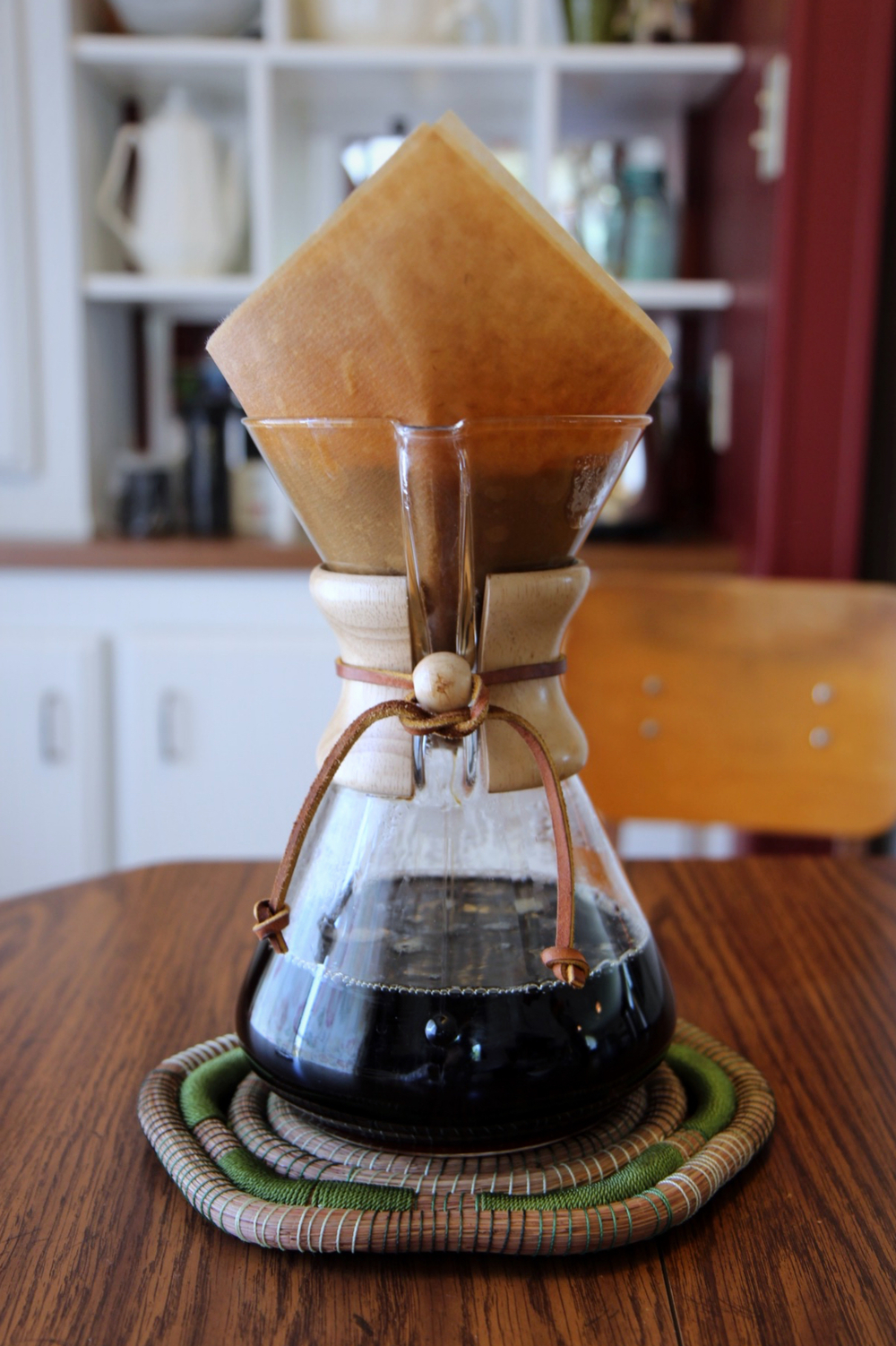 Our 50 oz. Chemex, in all its beauty