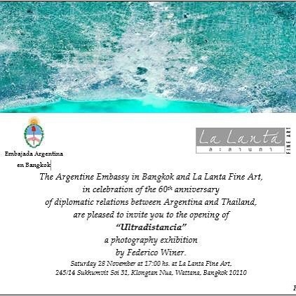 ULTRADISTANCIA OPENING AT LA LANTA GALLERY IN BANGKOK