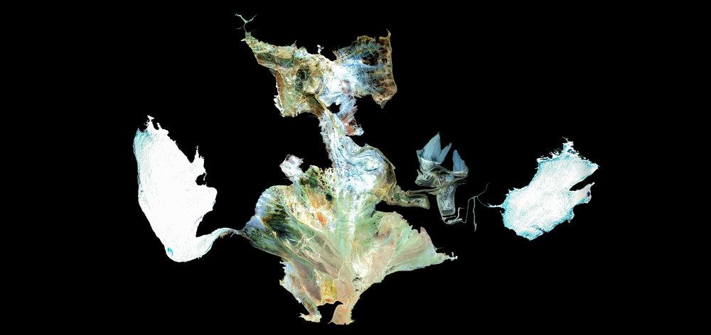 PASCUA LAMA  Atacama Region, Chile. San Juan, Argentina.  From the series Ultradistancia Monsters of Mine. Archival Pigment Print. 2019