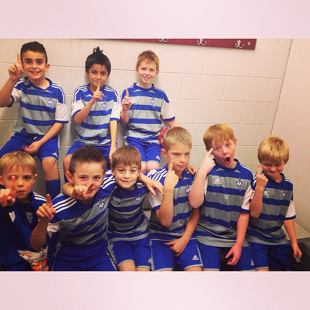 CSA U-9 Boys participating in an indoor seeding tournament this past weekend! #CSA #ChicagoSoccerAcademy #Sycamore
