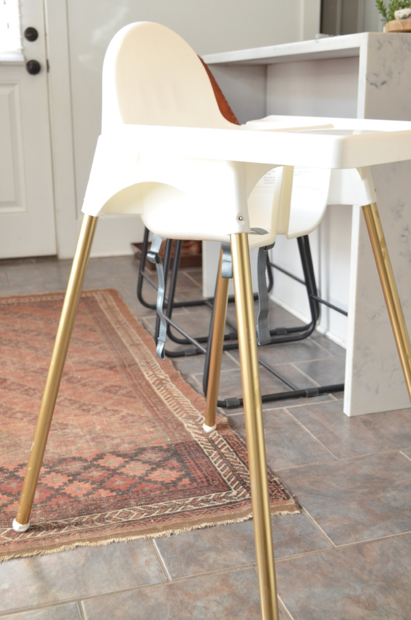 ikea high chair DIY