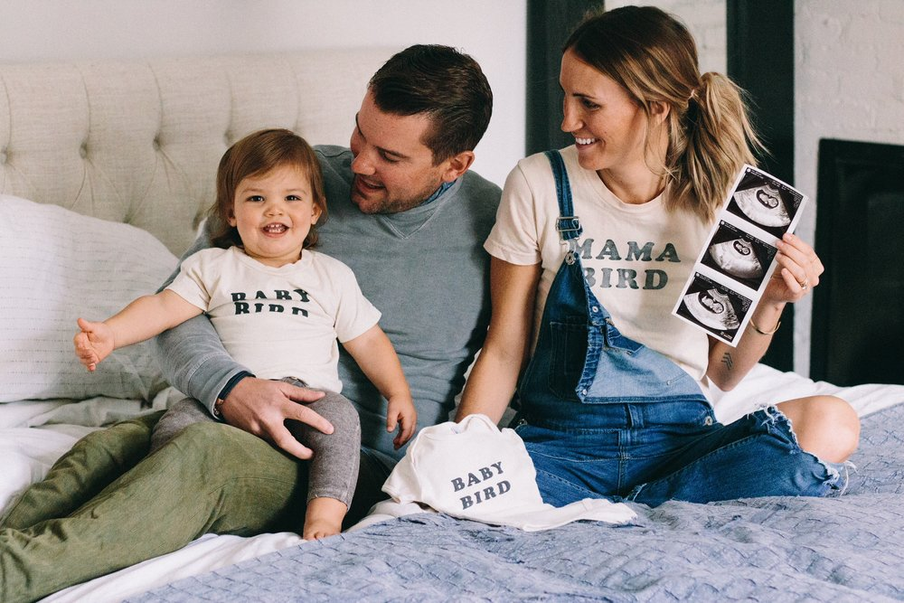 the bee & the fox pregnancy announcement