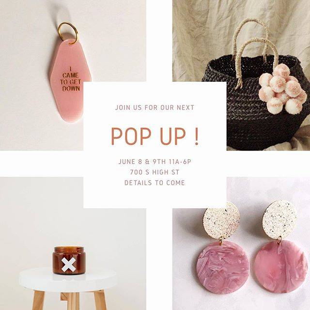 Our next Pop Up✨ date has been announced !! We're going back to our roots and selling out of 700 S High St - stay tuned for sneak peeks of our new brands and some v exciting details 💫 + + + + #trodel #trodelshop #trodelblog #columbusunderground #columbussmallbusiness #columbusboutique #smallbusiness #popupshop #popupboutique #columbuspopupshop #614bloggers #columbusbloggers #asseenincolumbus