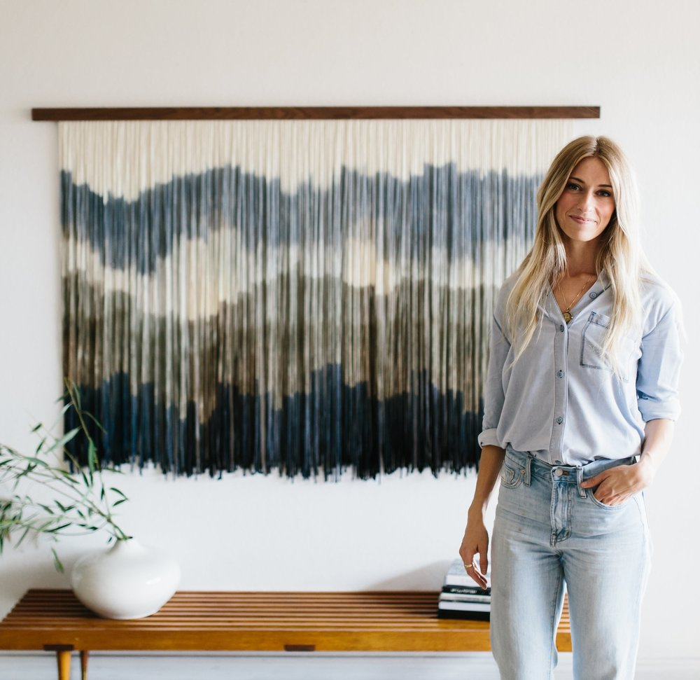 "Meet Lauren - ""I LIKE TO THINK THAT MY TAPESTRIES ARE A CANVAS, BUT WITH MOVEMENT."