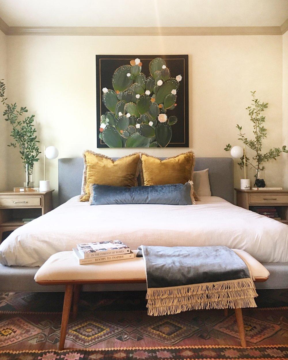 Velvet Vintage Rose Lumbar Pillows — Lauren Williams Art + Home