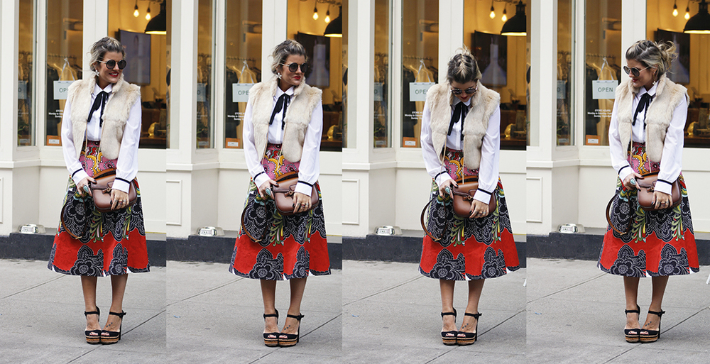 Midi Skirt - Make it Work, Baby - Blogzilla NYC