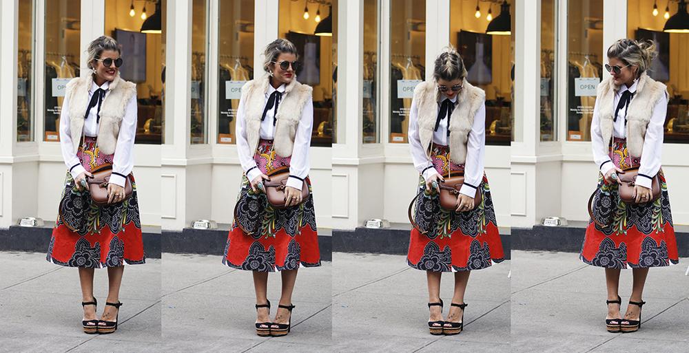Midi Skirt - Make it Work, Baby - Blogzilla NYC