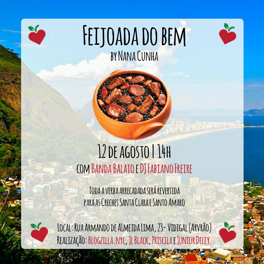 Feijoada do Bem by Nana Cunha