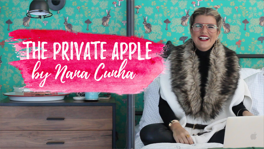Nana Cunha The Private Apple Youtube channel