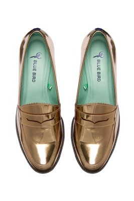 Loafer dourado blue bird.jpg