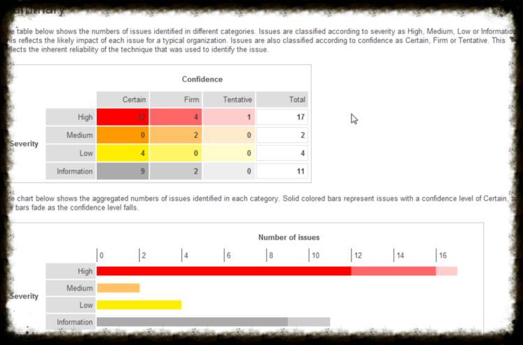 burp suite sample report