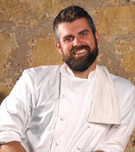 Chef Luke Zahm (Driftless Café)