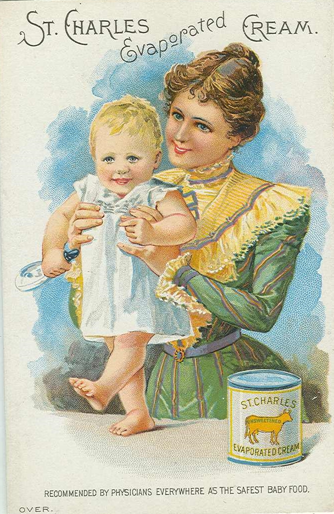 Advertisement for St. Charles Evaporated Cream