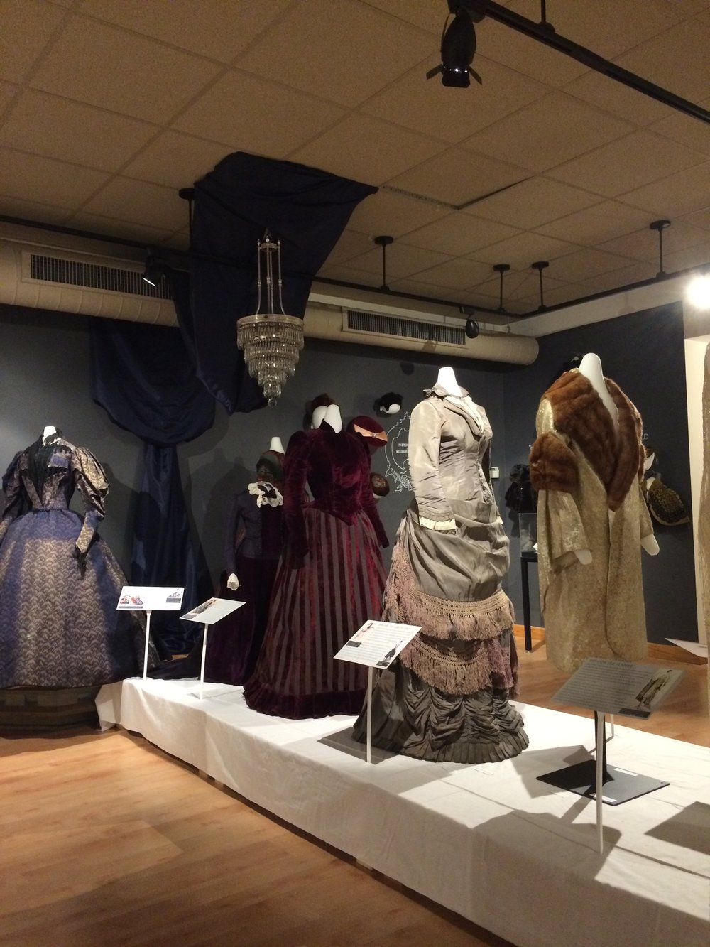 Baby it's Cold Outside: Womens Fashion Exhibit