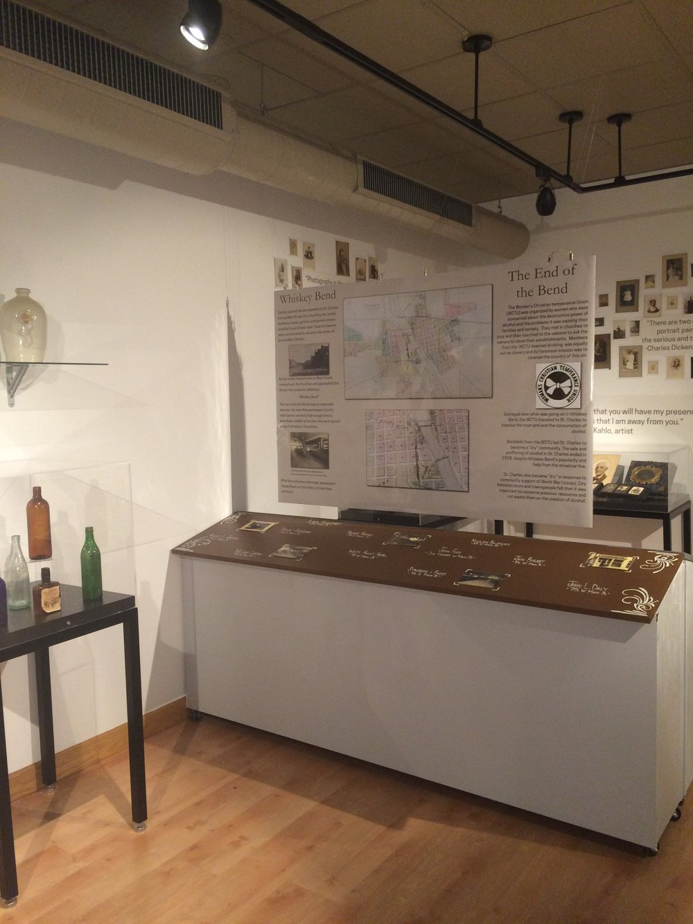 Whiskey Bend Exhibit