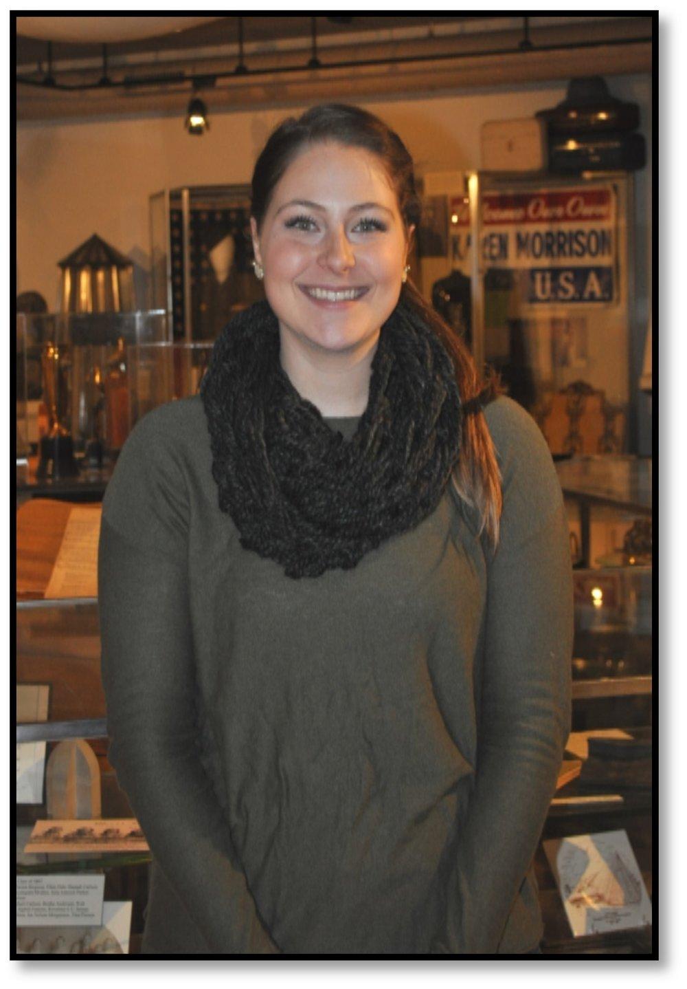 Carissa Bolvin- Intern & Museum Assistant 2015-2016