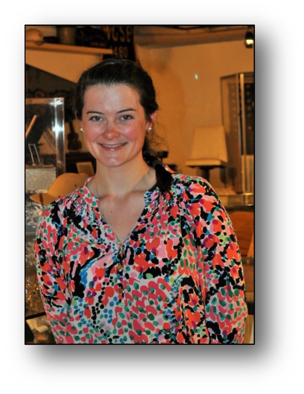 Brigid Leavy-Intern/Museum Assistant/Curator & Grant Writer 2015-2016