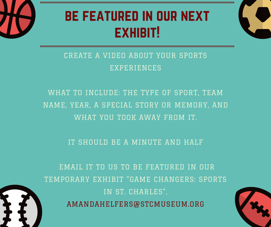 Submit your story or sports memorabilia  by March 17.