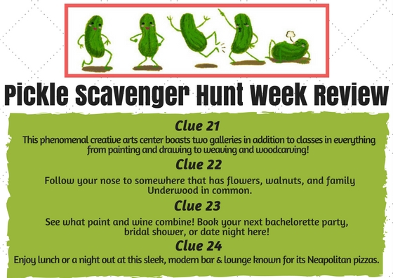 The St Charles History Museum And Downtown Partnership DSCP Are Organizing A Pickle Town Scavenger Hunt In