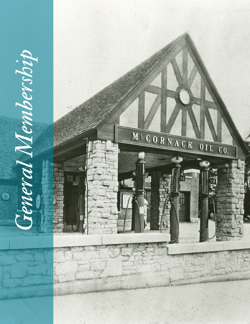 The McCornack Oil Co. Gas Station was the premiere station at the time of its construction in 1927. The gas station became the corporate headquarters for McCornack Oil Co. and was open for operation on Christmas 1928. c.1930s