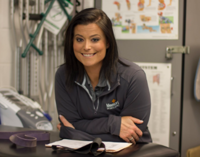Ashley Dutcher, Lead Athletic Trainer, Memorial Hospital
