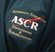 The ASCR keeps astronauts and pilots healthy and fit