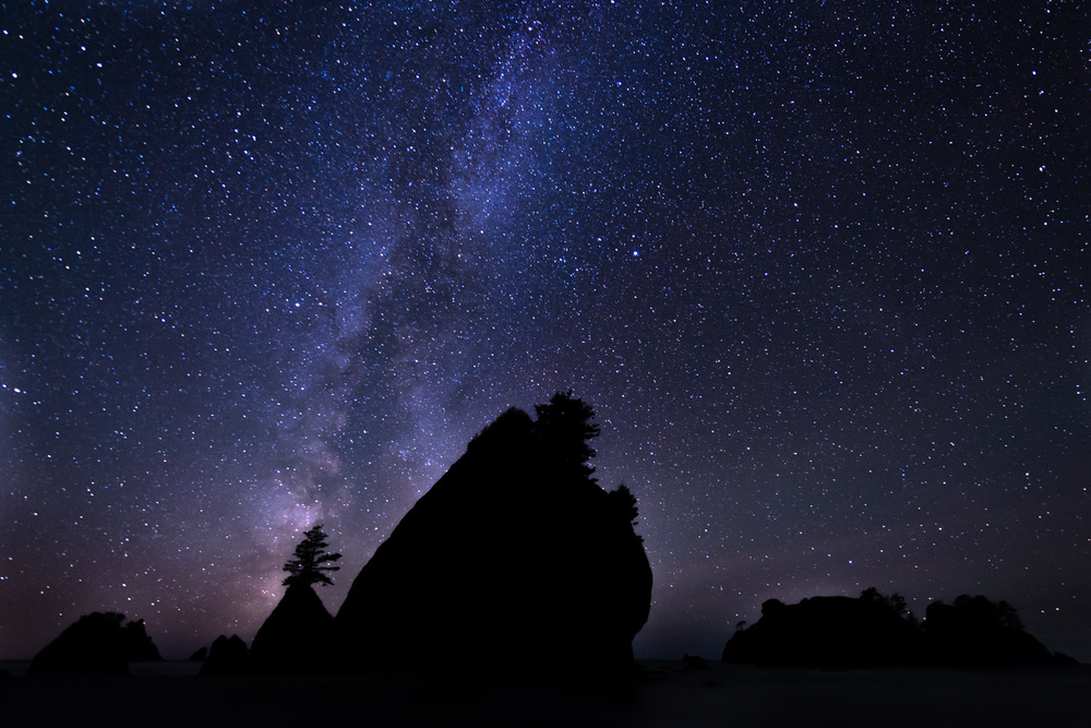 Shi Shi Beach | Point of Arches | Milky Way | Olympic National Park | Washington