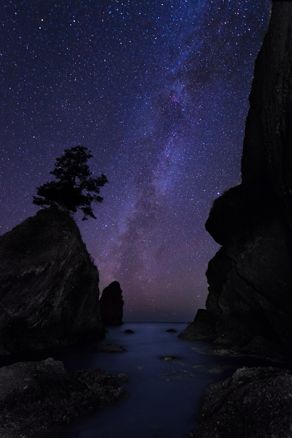 Shi Shi Beach | Olympic National Park | Point of Arches | Milky Way