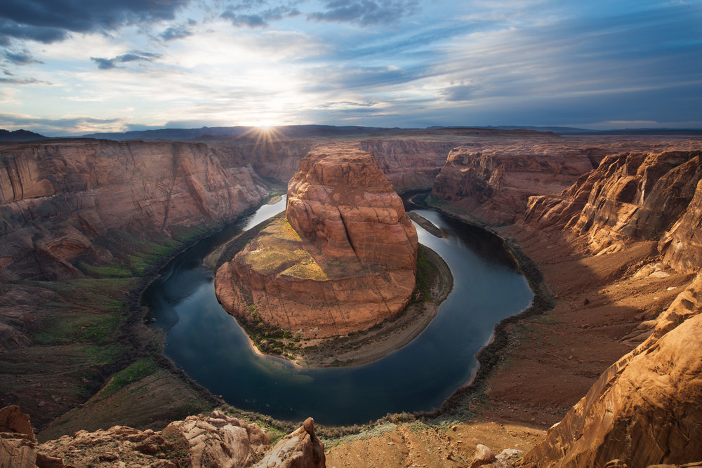 Horseshoe Bend | Page Arizona | Sunset