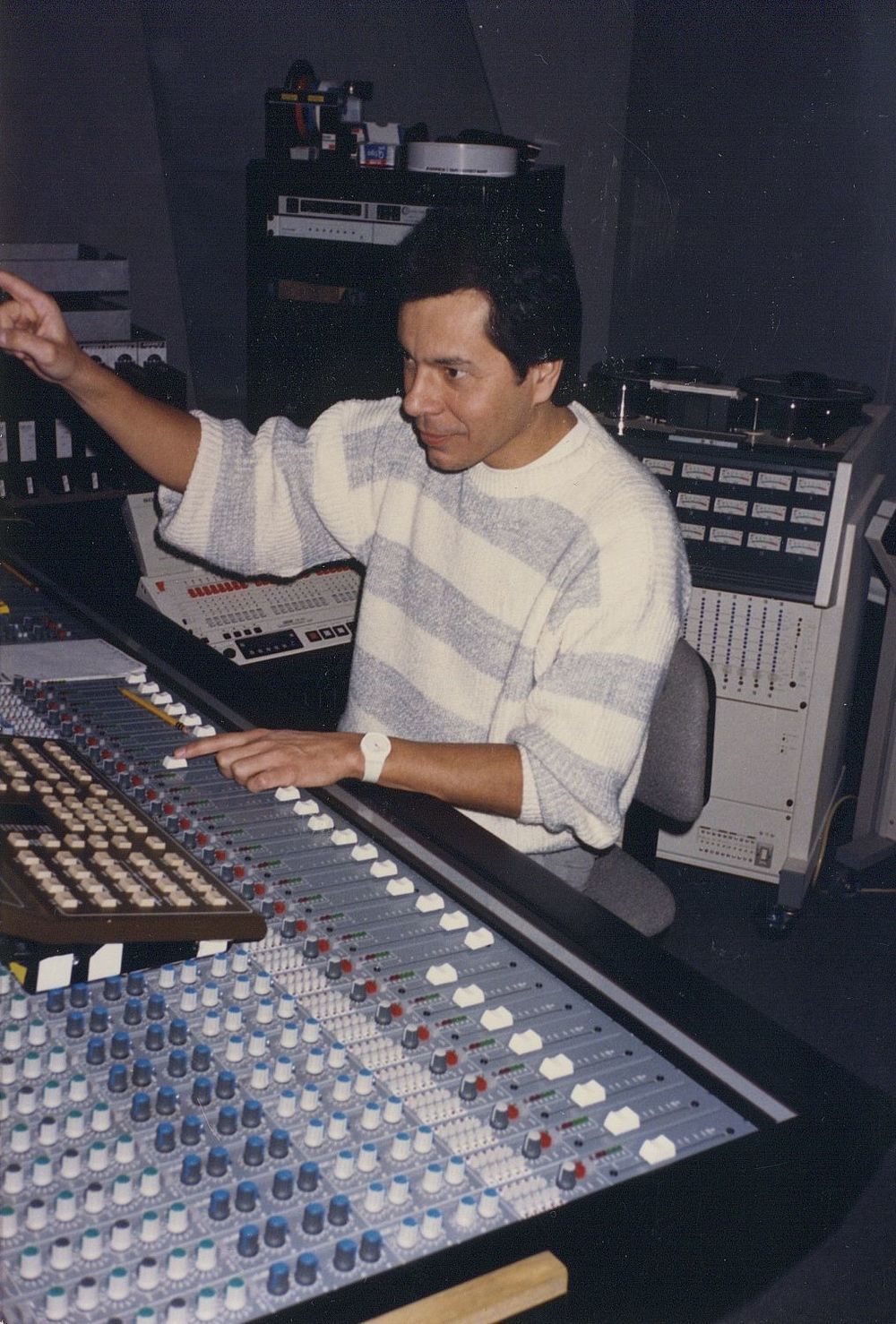 Don Luna at Saban Productions