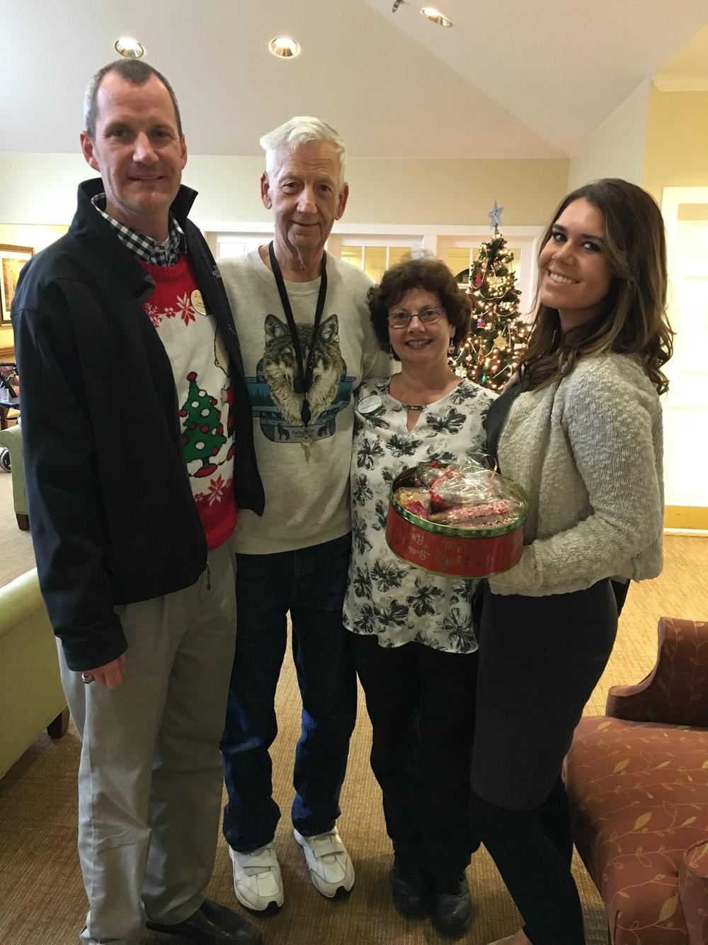 Lance, Dennis and Mary, Brookdale Senior Living Solutions & Emily Graham, Quantam Solutions