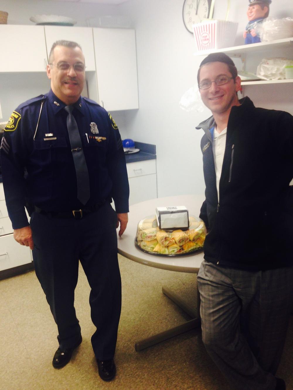 Sgt. J Robertson, Michigan State Police & Boruch Loriner, Quantam Solutions
