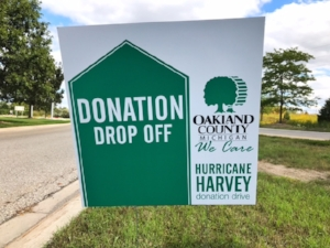 Oakland County Helping Hurricane Harvey Victims.JPG