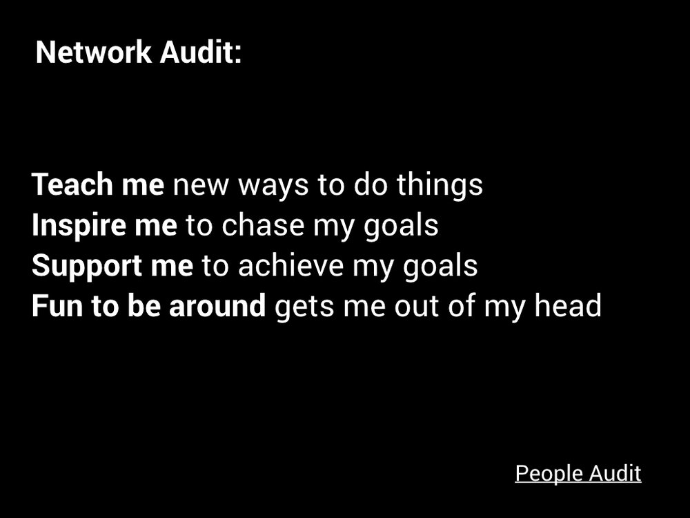 Check out the People Audit here!