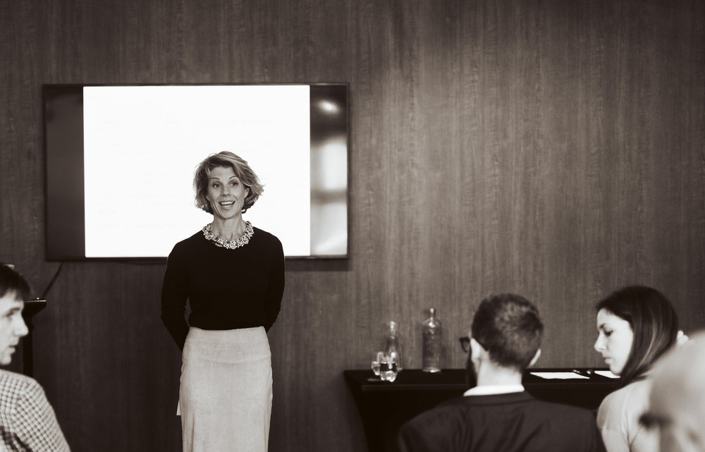 Nicole Hatherly teaching personal brand in corporates in Melbourne, Australia.