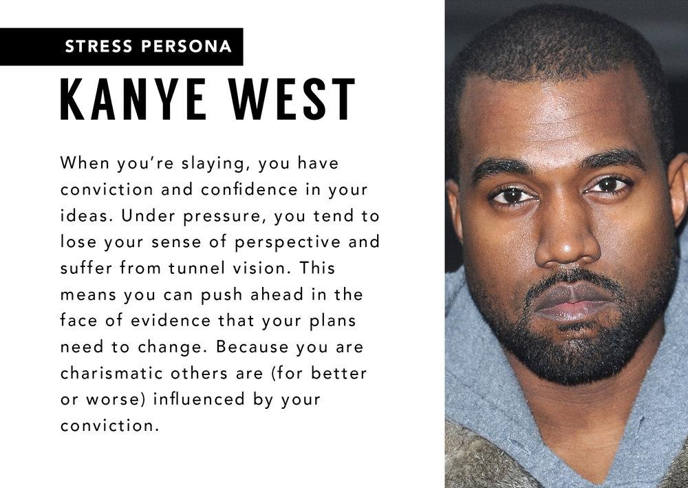 Kanye Stress Persona